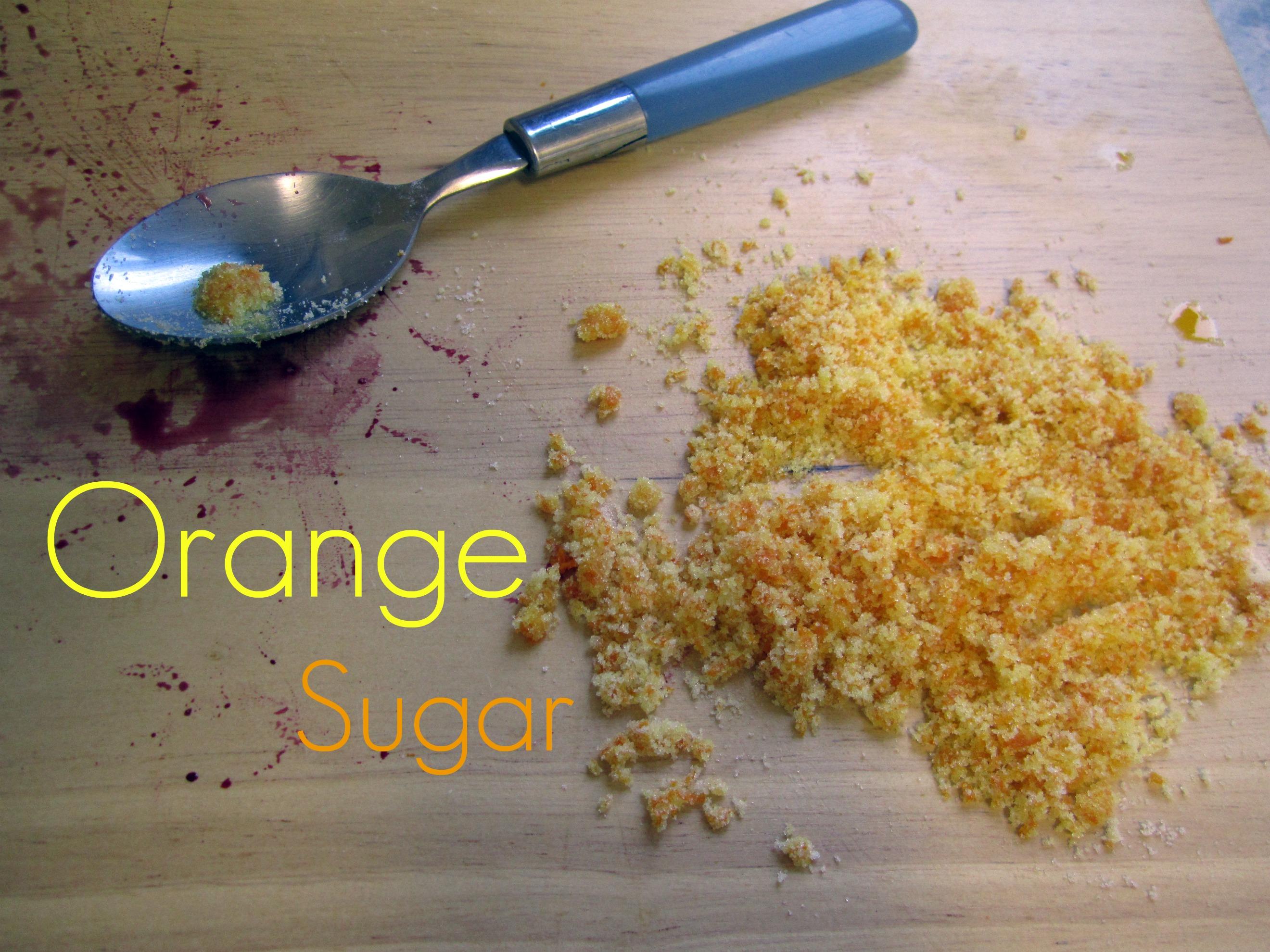 Cherry Dutch Baby With Orange Sugar