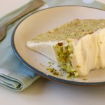 Pistachio and Lemon Layer Cake (Gluten Free)