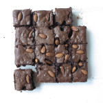 Salted Almond Brownies (gluten free)