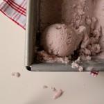 Roasted Strawberry and Black Pepper Vegan Ice Cream